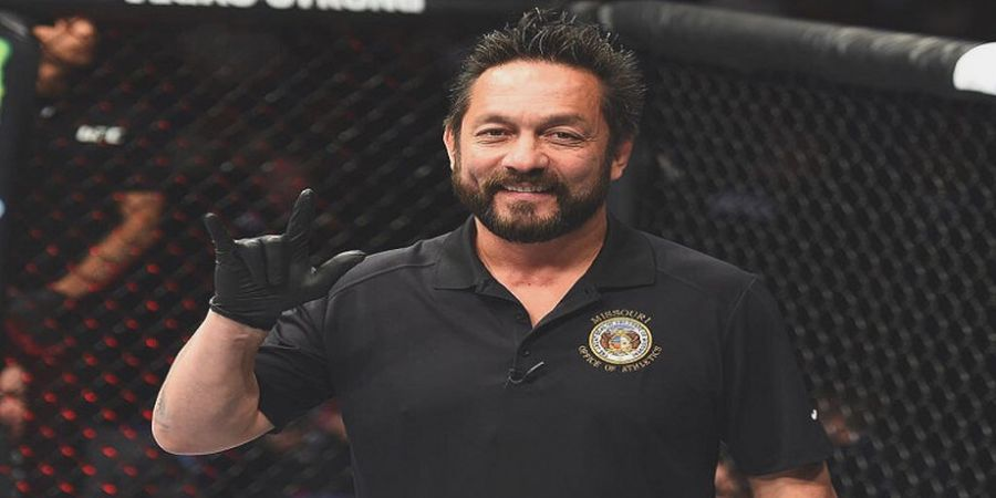 Wasit Paling Rusuh Kembali ke MMA, Jagoan UFC Mencak-mencak