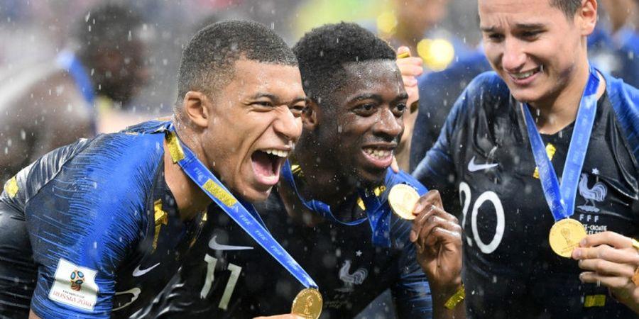 Malas dalam 2 Hal, Timnas Prancis Malah Menangi Piala Dunia 2018