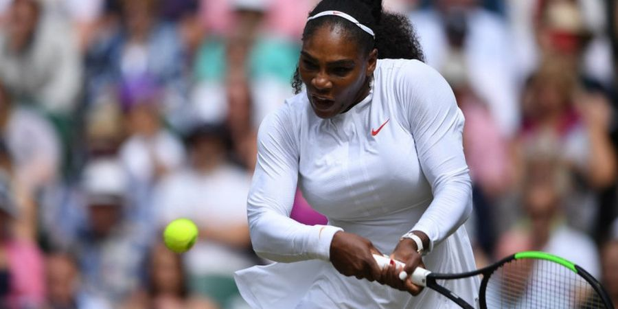 Tampil Menawan di Wimbledon 2018, Peringkat Dunia Serena Williams Meroket