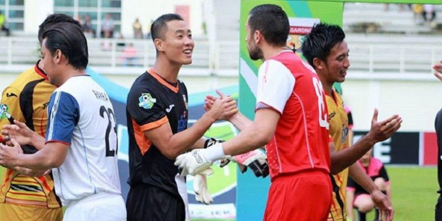 Romantisme Dua Kiper Asing Liga 1 2018