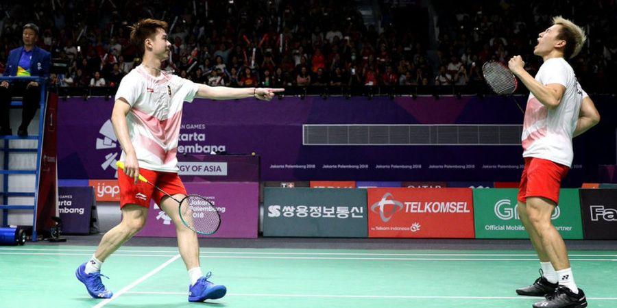 Rekap Semifinal Asian Games 2018 - Indonesia Sukses Tempatkan 3 Wakil di Final, Ganda Putra Kunci Medali Emas