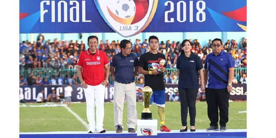 Persik Kediri Tagih Uang Hadiah Juara Liga 3 2018, Top Scorer, dan Pemain Terbaik