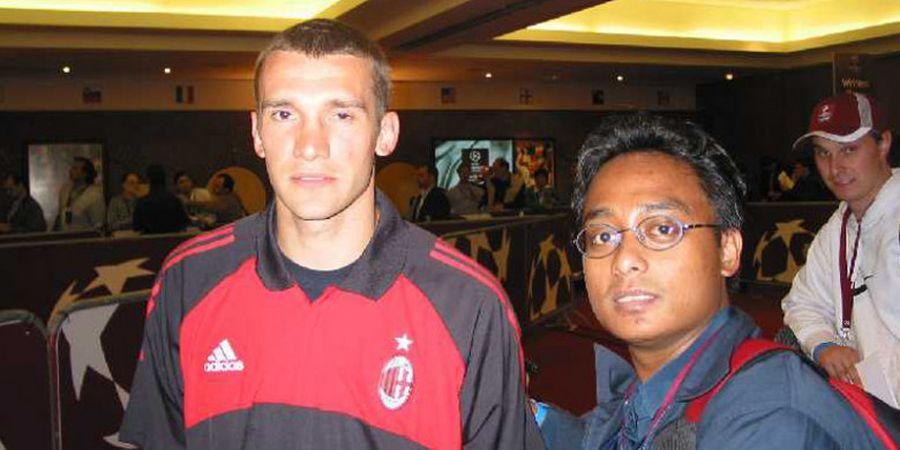 SPORTS STORY - Bertemu Andriy Shevchenko Setelah Jadi Penentu Kemenangan AC Milan di Final Liga Champions 2003