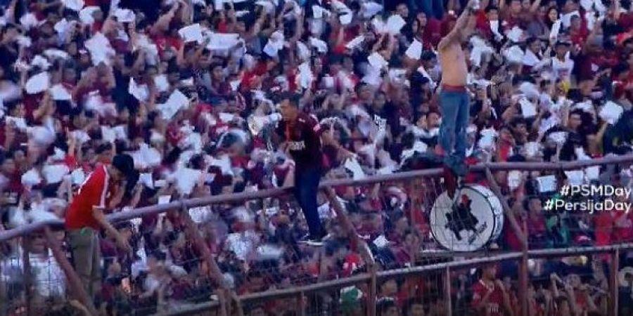Piala AFC - Darije Kalezic Apresiasi Dukungan Fan Dilaga PSM Vs Home United