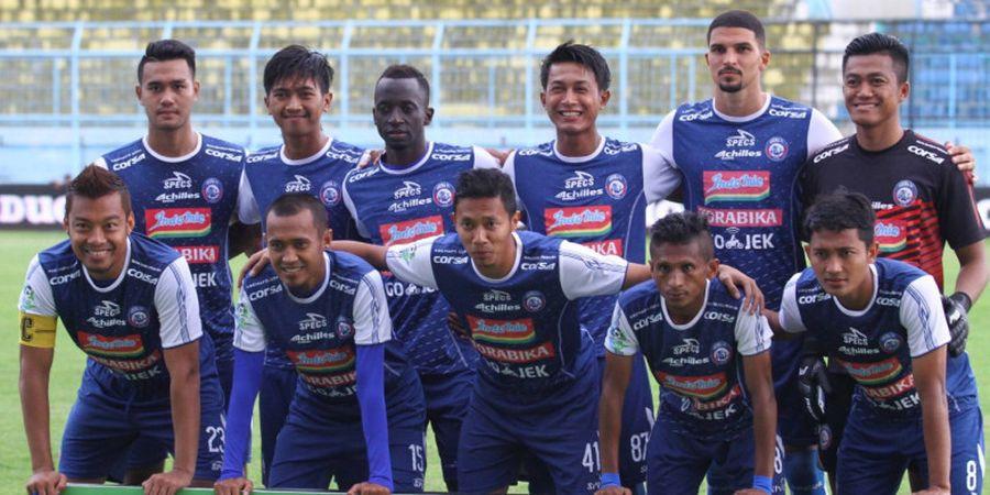 Arema FC Pertahankan 2 Palang Pintu Pertahanan, Bagaimana Nasib Bagas Adi Nugroho?