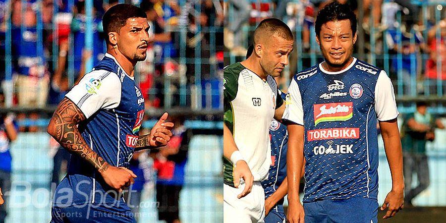 Hamka Hamzah Tak Puas dengan Wasit di Laga Persib Vs Arema FC