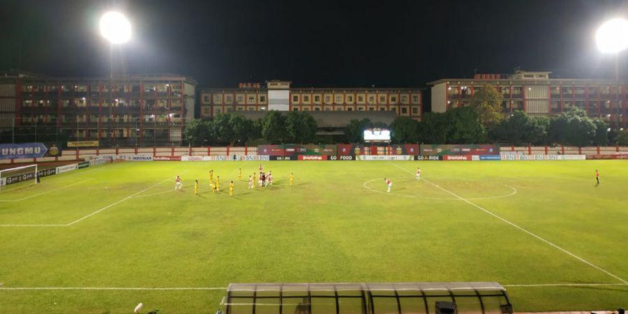 Robert Rene Albert Keluhkan Kondisi Stadion PTIK Markas Bhayangkara FC