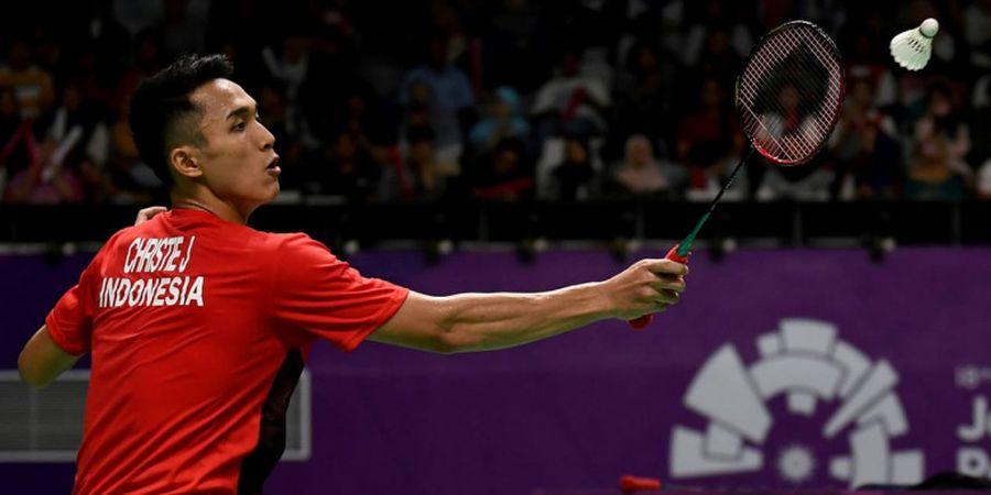 Jonatan Christie ke Semifinal Tunggal Putra Asian Games 2018