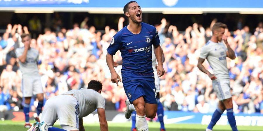 Preview Chelsea Vs Manchester United - Legenda Setan Merah Beri Tips Cara Hentikan Eden Hazard