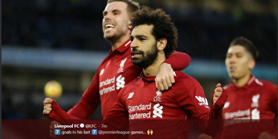 Jose Mourinho: Saya Jatuh Cinta dengan Mohamed Salah di Chelsea