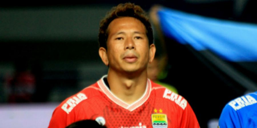 Tekad Baja I Made Wirawan saat Persib Bandung Dijamu PSS Sleman