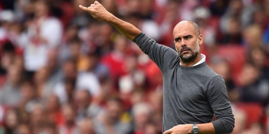 Tottenham Hotspur Vs Manchester City - Pep Guardiola Kritik Kualitas Rumput Wembley