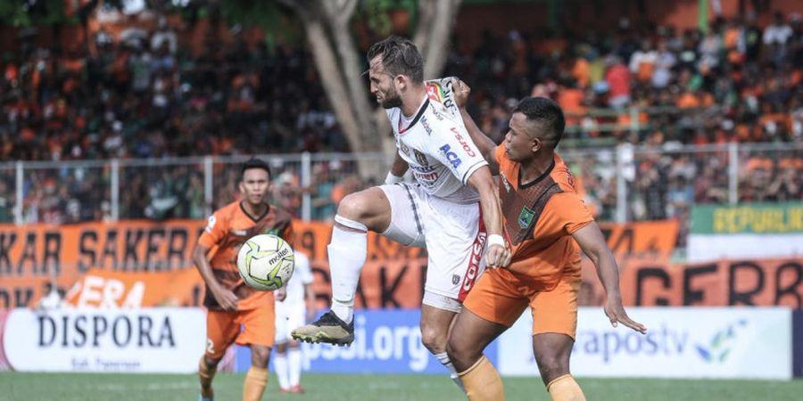 Spaso Pasrah,  Posisinya di Bali United Tergantung Stefano Cugurra