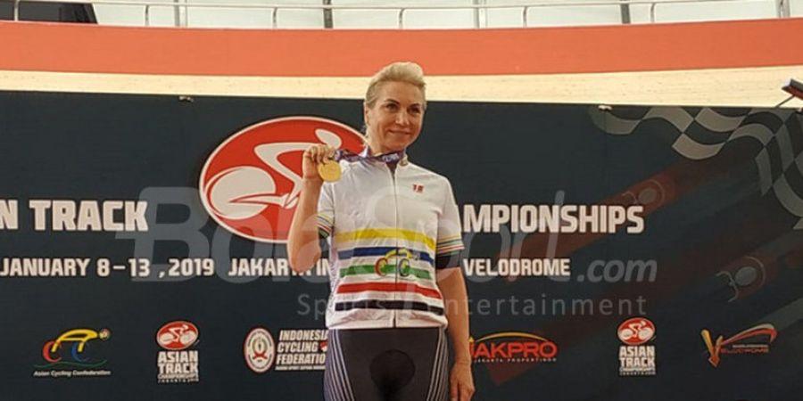 Asian Track Championships 2019 - Olga Zabelinskaya, Pebalap Sepeda Rusia yang Kini Jadi Orang Uzbekistan