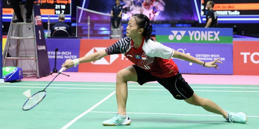 Fitriani Ditekuk Ratchanok Intanon, Indonesia Tertinggal 0-1