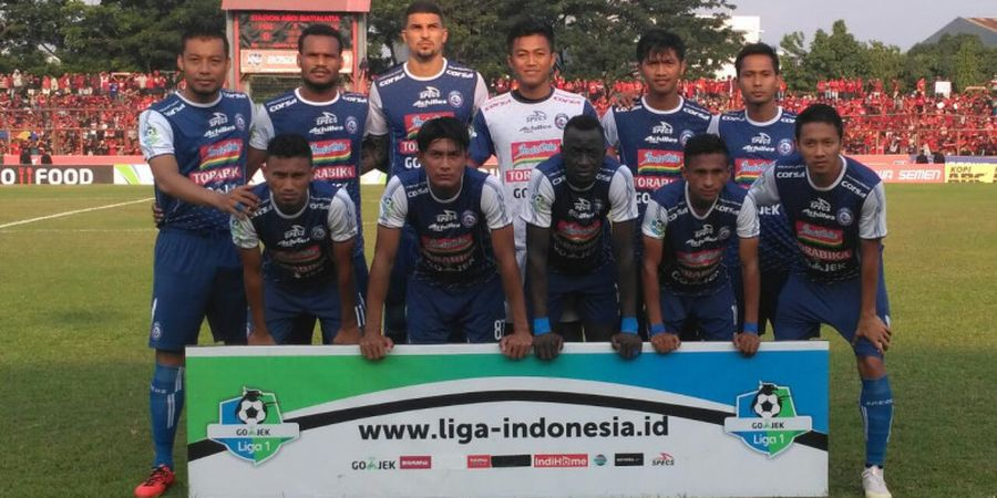 Jatuhnya Pesawat Lion Air JT610 Jadi Alasan Arema FC Pilih Away ke Markas PSIS dengan Kereta Api