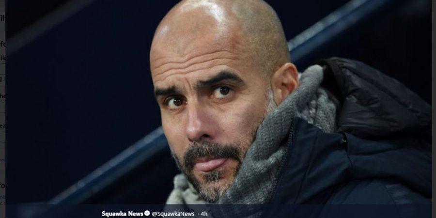 Jarang Dimainkan, Pep Guardiola Sampaikan Maaf Ke Riyad Mahrez