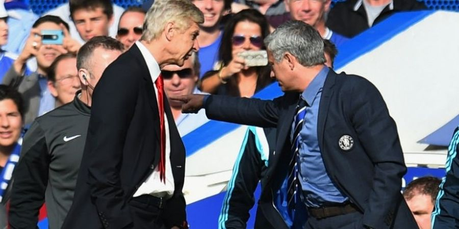 Mourinho Sempat Ingin Hancurkan Wajah Wenger