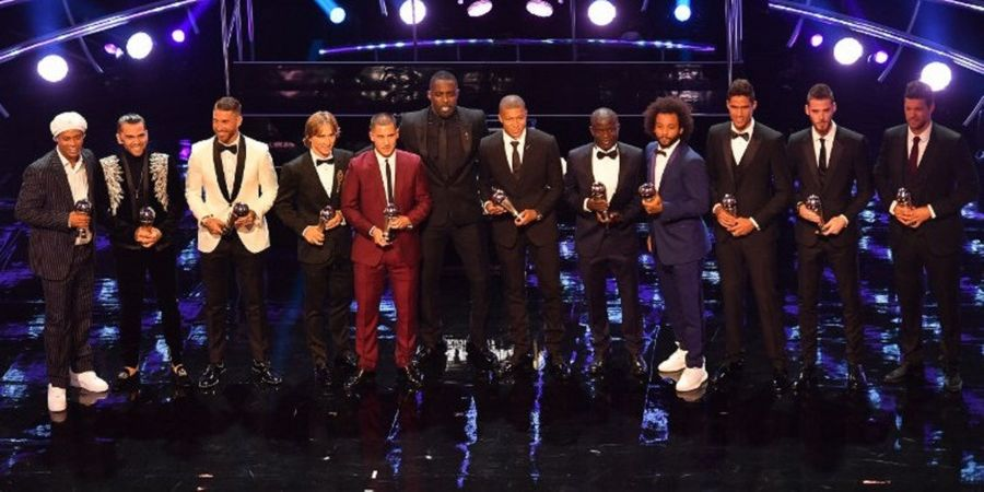 Daftar Lengkap Pemenang Penghargaan The Best FIFA Football Awards 2018