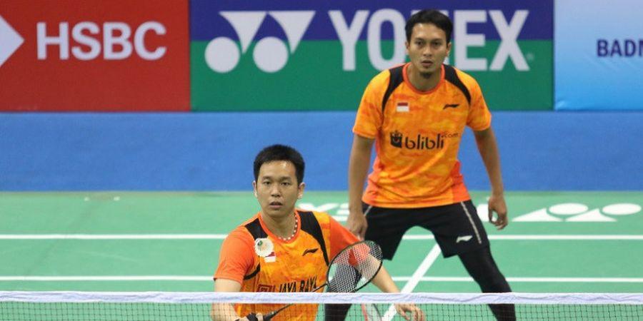 Kejuaraan Asia Beregu 2018 - Ini Alasan Hendra Setiawan dan Mohammad Ahsan Dicerai Saat Hadapi Maladewa
