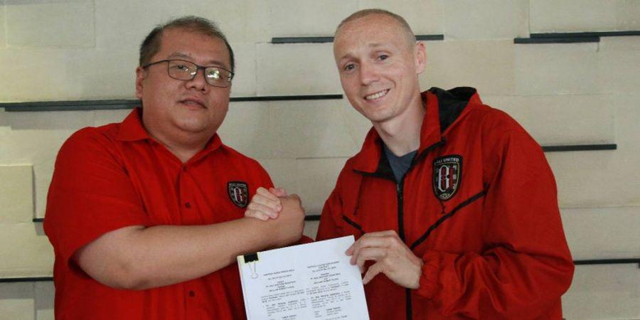 Bali United Resmikan Gelandang Asing Eks Manchester City