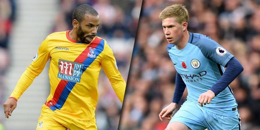 Crystal Palace Vs Manchester City, Citizens Menang Perang Status