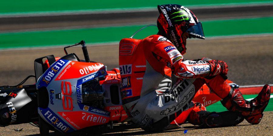 Usai FP1, Jorge Lorenzo Pilih Mundur dari Seri MotoGP Jepang 2018