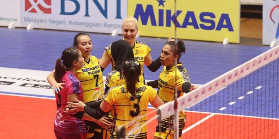 Proliga 2019 - Tim Putri Popsivo Tumbangkan Bank BJB pada Laga Pembuka di Gresik