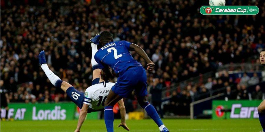 Tendangan Salto Sampai Gol Penalti, Harry Kane Pahlawan Tottenham Saat Lawan Chelsea