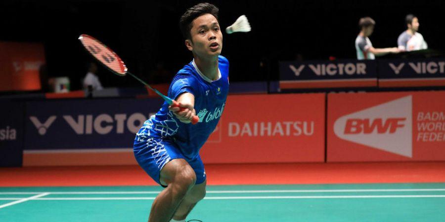Malaysia Masters 2019 - Anthony Ginting Ungkap Biang Kekalahannya dari Chen Long