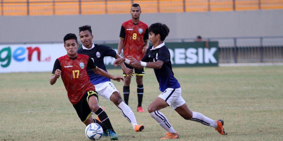 Keterbatasan Tak Turunkan Semangat Timor Leste untuk Menghadapi Timnas U-19 Indonesia