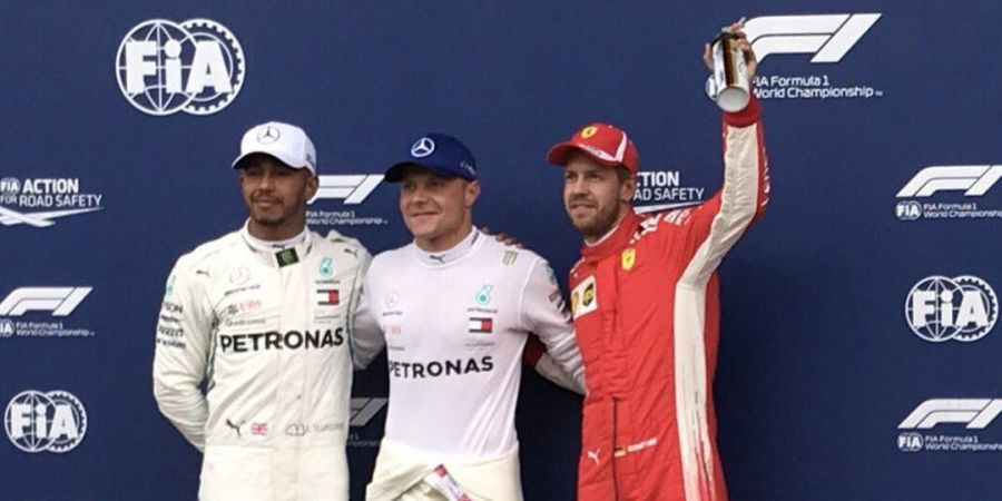 Link Live Streaming F1 GP Austria 2018 - Sebastian Vettel Siap Mengancam Dominasi Duo Pebalap Mercedes di Red Bull Ring