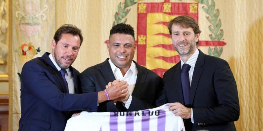 Dibeli Ronaldo, Valladolid Lebih Hebat dari Barcelona dan Real Madrid