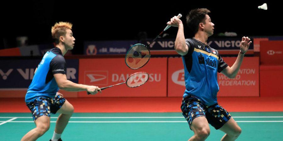Kebahagiaan Marcus/Kevin Menembus Final Malaysia Masters 2019