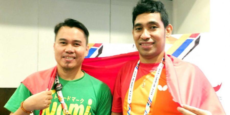 David dan Komet Selangkah Lagi Raih Emas ASEAN Para Games 2017