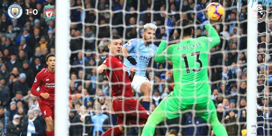 Hasil Liga Inggris - Manchester City Nodai Rekor Tak Terkalahkan Liverpool Lewat Drama 3 Gol