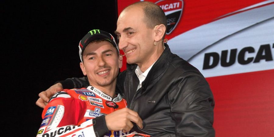 Sering Beri Kritikan, CEO Ducati Ungkap Relasinya dengan Jorge Lorenzo