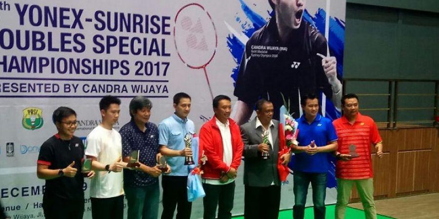 Marcus/Kevin hingga Ricky/Rexy Dapat Penghargaan di Candra Wijaya International Badminton Center
