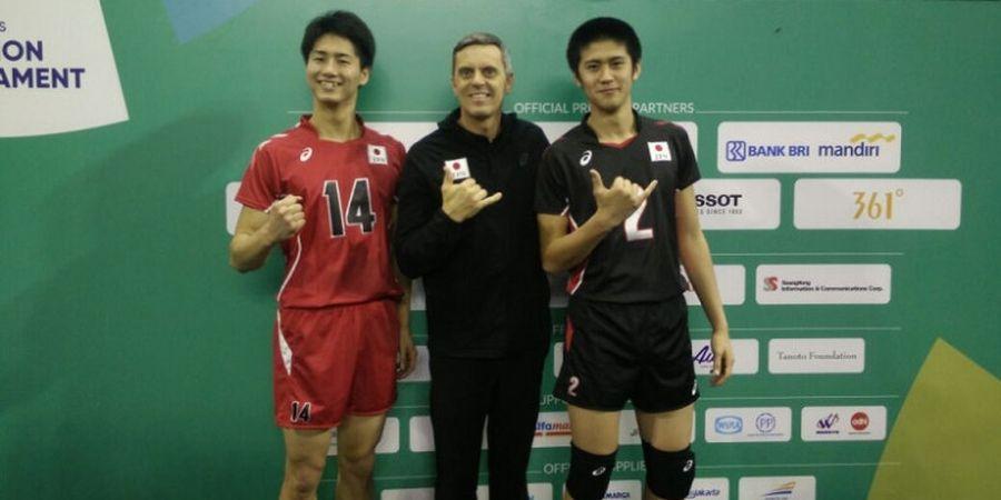 Ini Kata Pelatih Tim Voli Jepang tentang Tim Indonesia, Jakarta, dan Asian Games 2018
