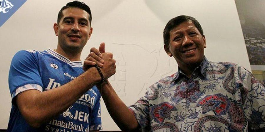 Kisah Esteban Vizcarra di Persib, Dulu Dibuang, Kini Disayang dengan Target Juara Liga 1