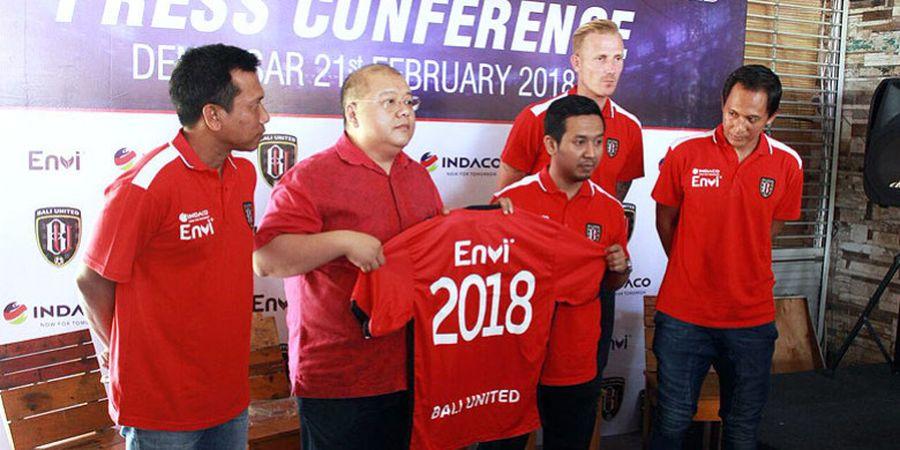 Indaco Jadi Sponsor Bali United Selama 3 Musim
