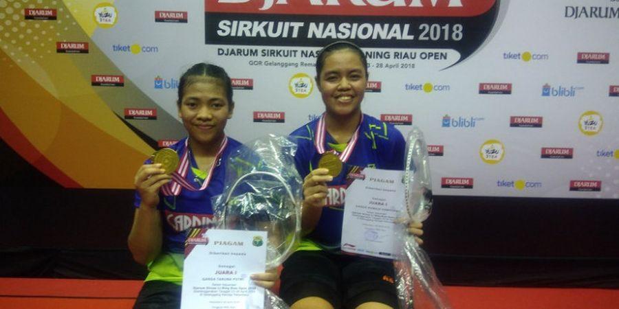 Djarum Sirnas Li Ning Riau Open 2018 - Turun di Kategori Taruna untuk Kali Terakhir, Ganda Putri Mutiara Ini Ingin Maksimalkan Prestasi