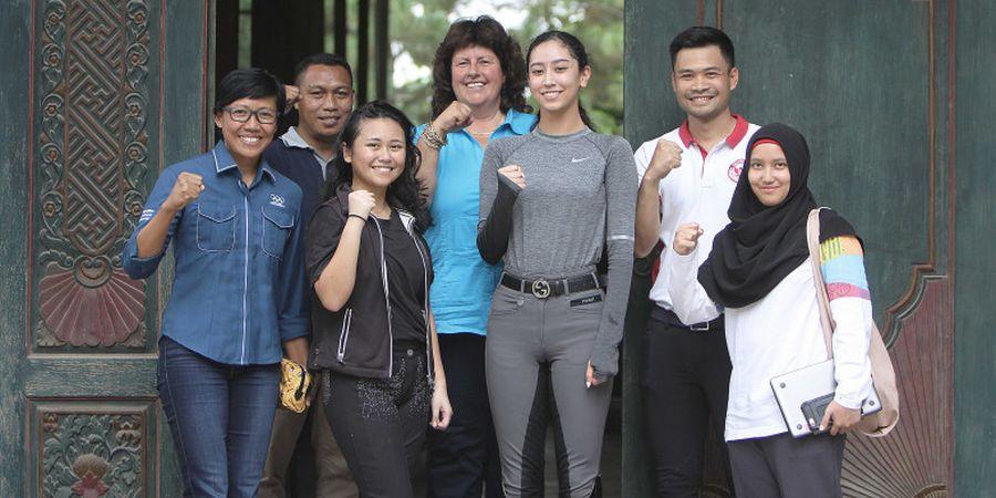 Pelatnas Berkuda Kedatangan 3 Legenda Olahraga Indonesia