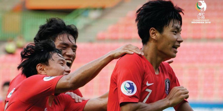 Piala Asia U-19 2018 - Timnas U-19 Korea Selatan Menang Tipis dan Susul Qatar serta Jepang ke Piala Dunia U-20 2019