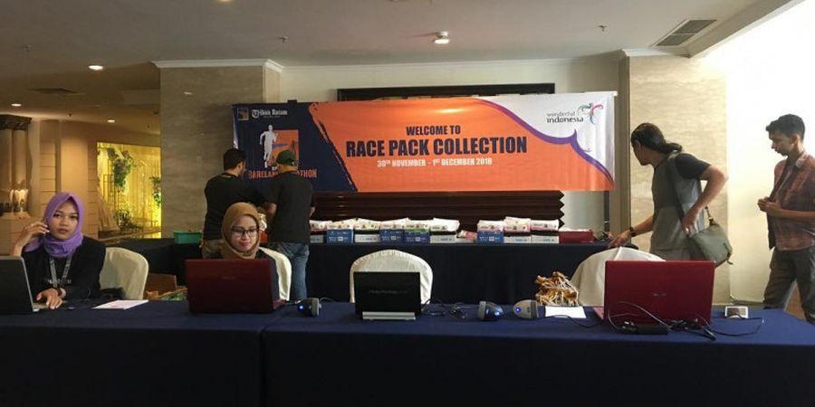 Persiapan Akhir dari Panitia di BP Batam Barelang Marathon 2018