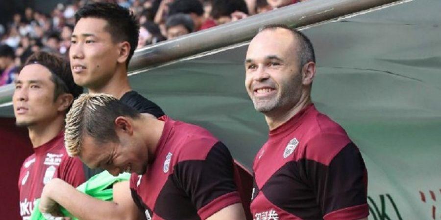 Meski Timnya Kalah Telak, Andres Iniesta Akui Alami Hari Spesial di Jepang karena Kehadiran Sosok Ini