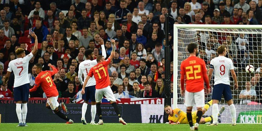 Hasil UEFA Nations League - Spanyol Beri Inggris Kekalahan Pertama di Wembley dalam 11 Tahun