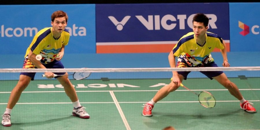 Ganda Putra Malaysia Ini Kejar Tiket Olimpiade Tokyo 2020 meski Penampilan Menurun
