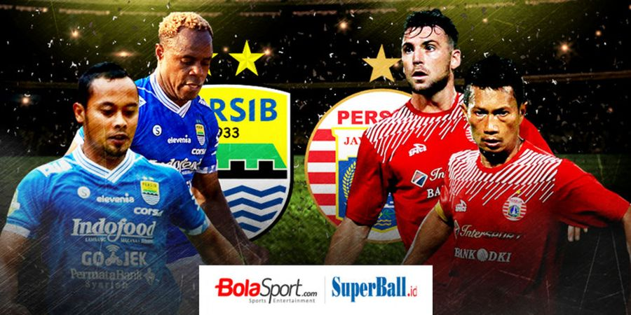 Link Live Streaming Persib Vs Persija - Derbi Super Panas Bertajuk El Clasico Indonesia!