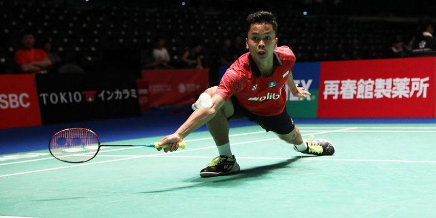 Persiapan Anthony Ginting Hadapi Viktor Axelsen pada Perempat Final Japan Open 2018